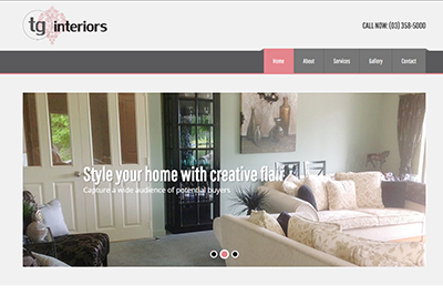 tg interiors home staging website thub