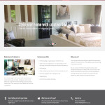 TG interiors home staging website